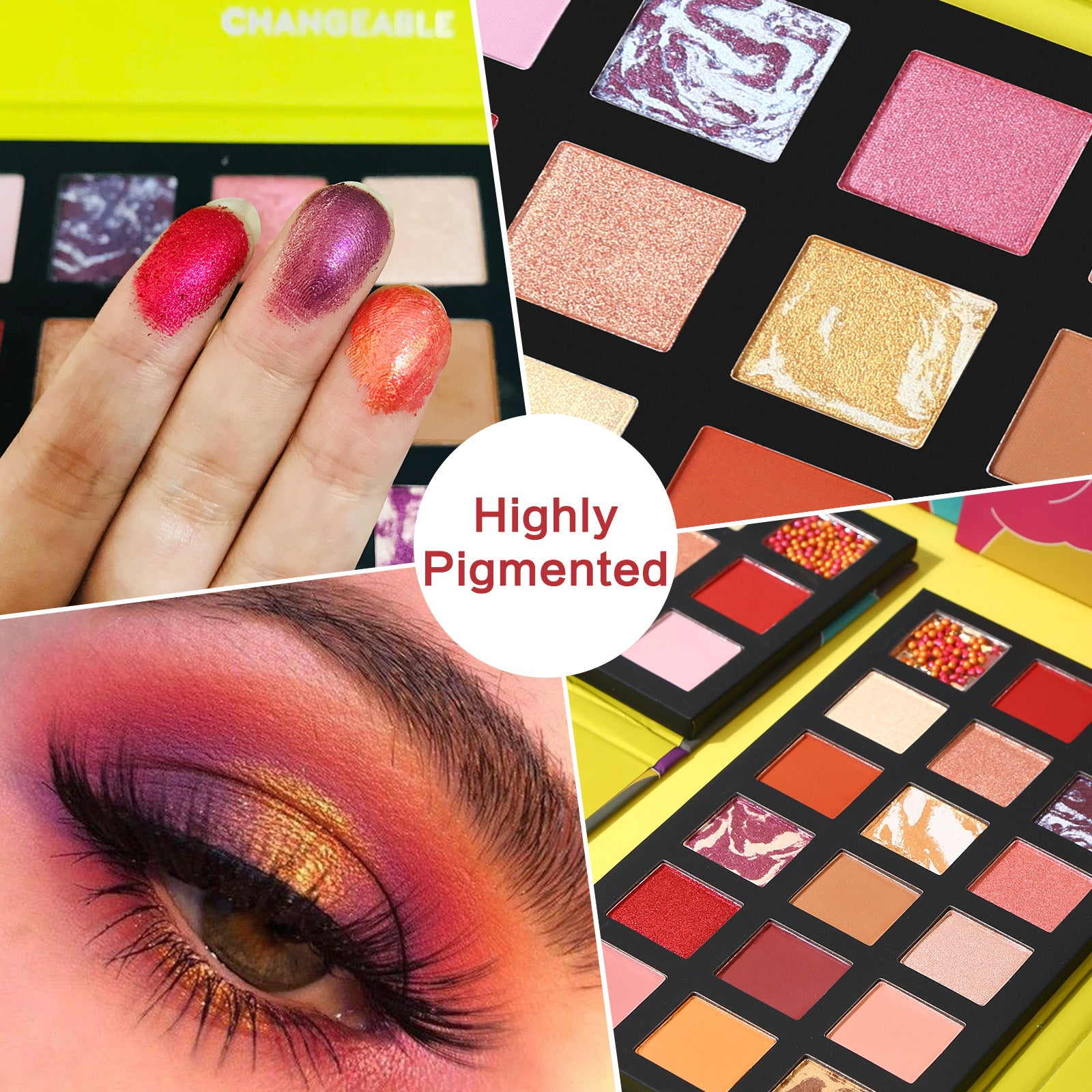 18 Colors Foresee Eyeshadow Palette