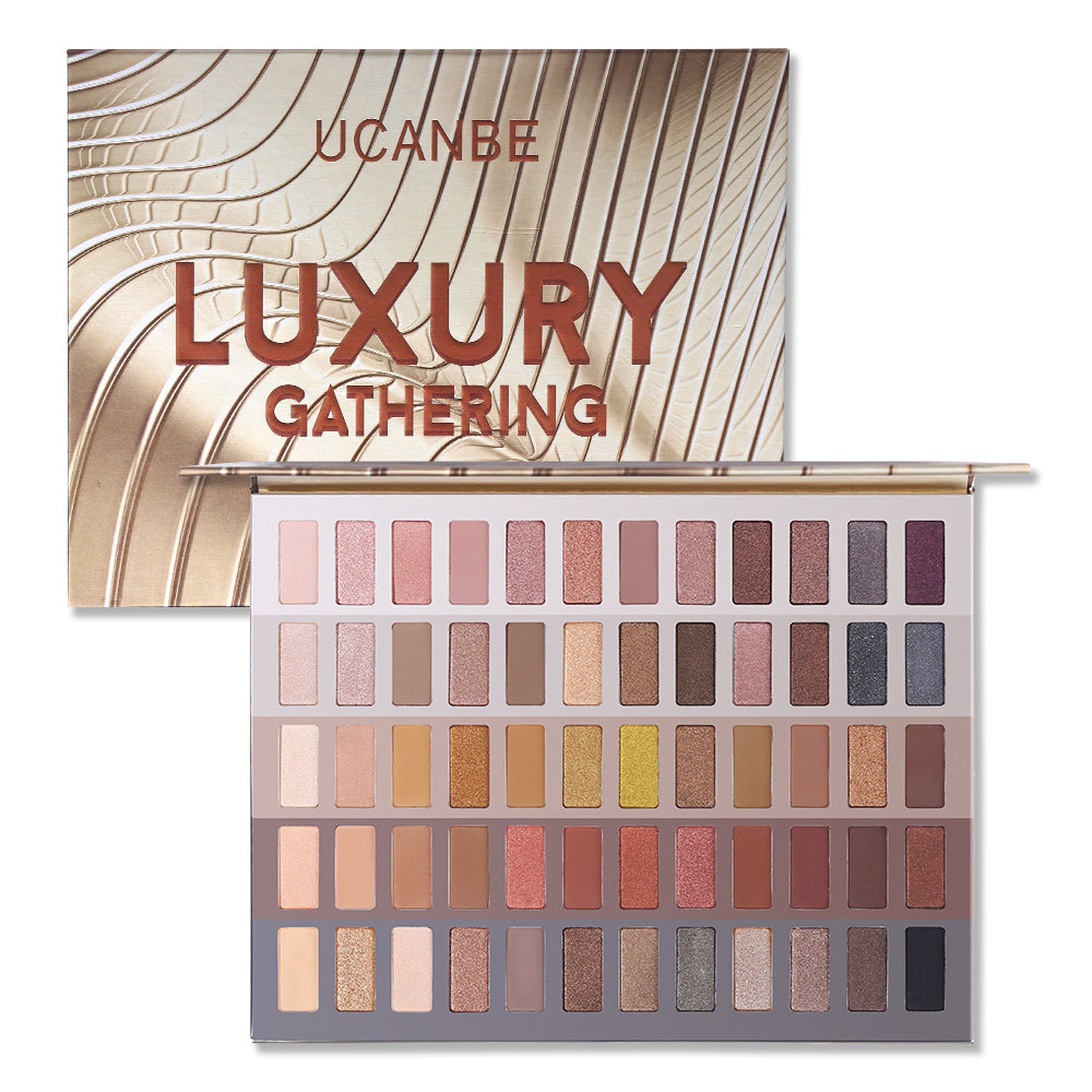 60 Colors Luxury Gathering Eyeshadow Palette