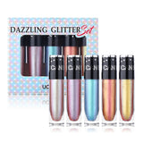 Dazzling Glitter Eyeshadow Liquid Set