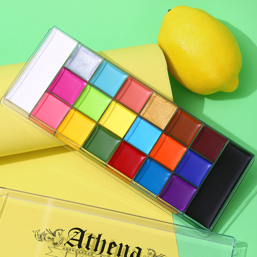Athena painting palette