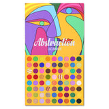 72 Colors Abstraction Eyeshadow Palette
