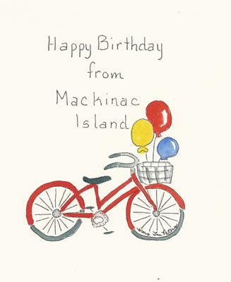 Happy Birthday from Mackinac Island (cards only)