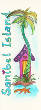 Sanibel Island Bookmark