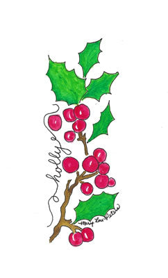 Holly Bookmark