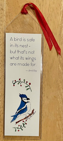 Blue Jay Bookmark
