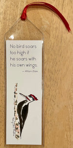 Pileated Woodpecker Bookmark