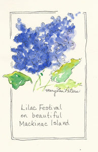 Lilac Festival (Postcard only)