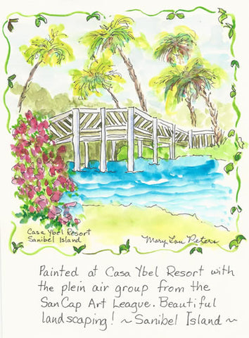 Sanibel Island: Casa Ybel Bridge