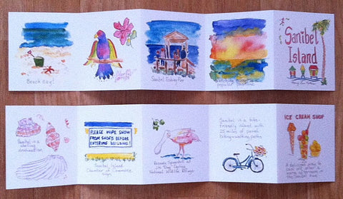 Accordion Book: Sanibel Island