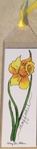 Daffodil Bookmark