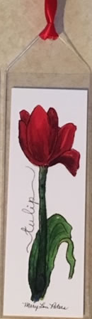 Tulip Bookmark