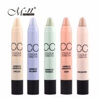 by DHL 1000Pcs Makeup Concealer Twisted CC Pencil 6 Colors Face Corrector Concealer Face Care Cosmetics Beauty Menow Cosmetics