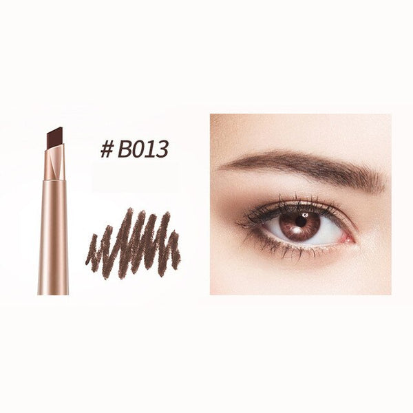 500Pcs/Lot BIOAQUA eyebrow pencil make up tools automatic waterproof eyebrow pencil Liner eye brow pen with brush wholesale