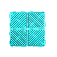 4pcs/set Multifunctional Combinable Heat Insulation Pad Silicone Meal Tea Coaster Non-Slip proof placemat