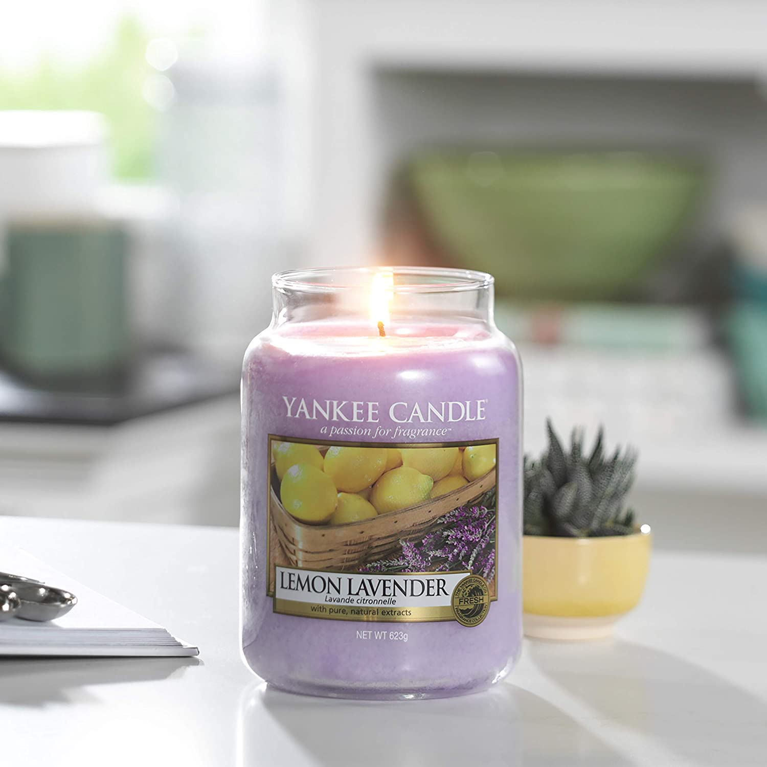 Lemon Lavender FREE DELIVERY Yankee Candle Large Jar Candle