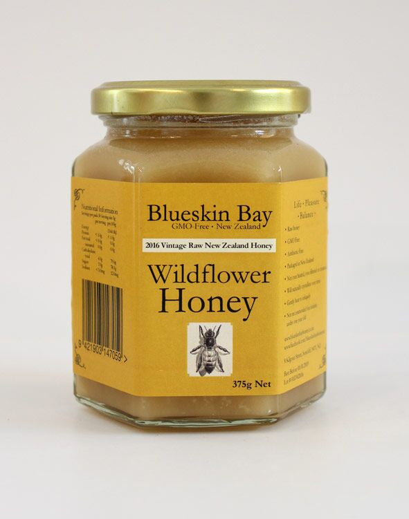 Raw Wildflower Honey 375g