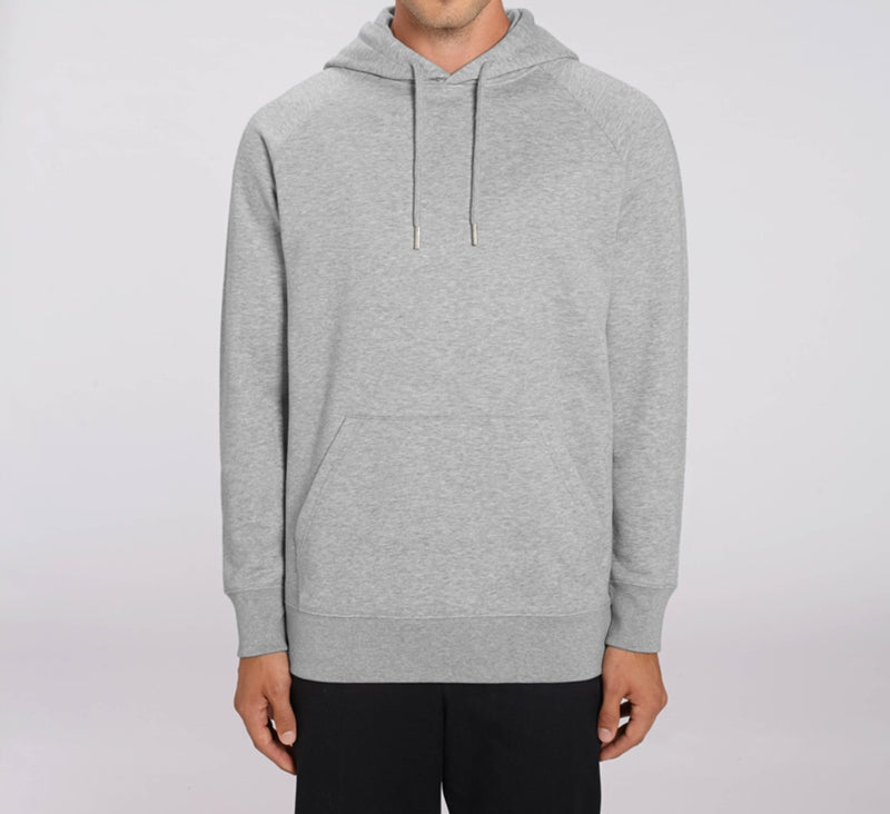 Bohemian by Jibodh Hoodie Heather Grey