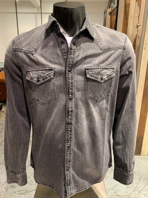 Denim shirt Grijs Drykorn
