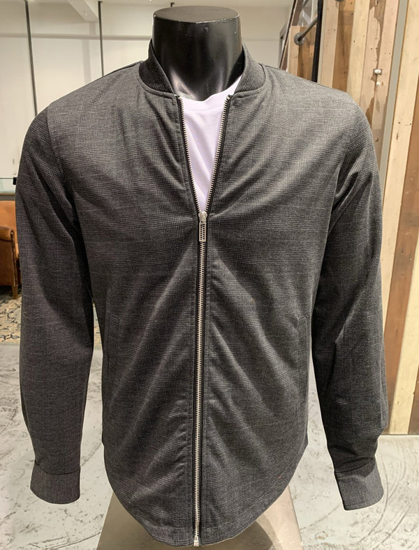 Overshirt met zipper