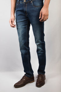 Indigo Blue Denim Jeans