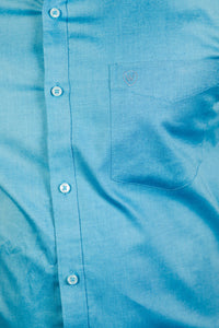 Aqua Giza Oxford Formal Shirt