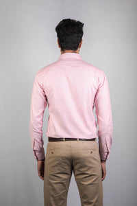 Light Red Dobby Formal Shirt