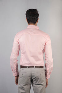 Pink Filafil Formal Shirt
