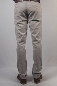 Grey Cotton Lenin Lycra Trouser