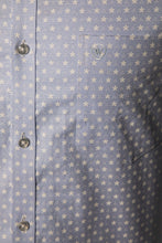 Load image into Gallery viewer, Blue Oxford Print Formal Shirt