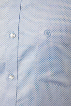 Load image into Gallery viewer, Blue Dobby Formal Shirt