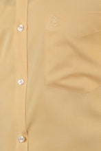 Load image into Gallery viewer, Yellow Honeycomb Dobby Formal Shirt