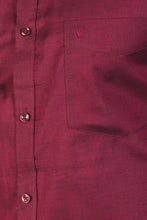 Load image into Gallery viewer, Dark Pink Giza Chambray Formal Shirt