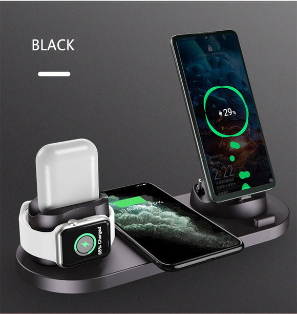 4 in 1 Qi Wireless Fast Charger