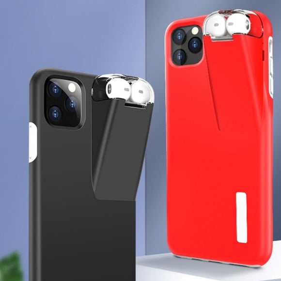 Cell Phone Cases for iPhone with Integrated Airpod Case