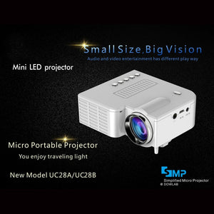 Mini HD Home Projector