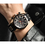 Latest Fashion Mens Watches Silicone Strap Quartz