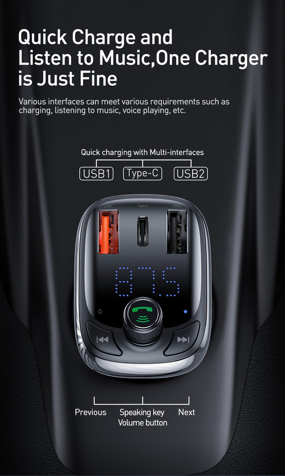 Quick Car Charge MP3  4.0  Player Radio