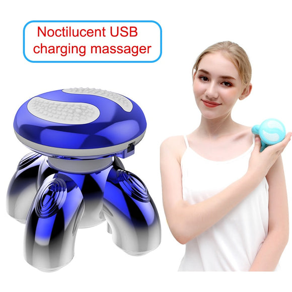 Electric Portable Luminous Body Massager