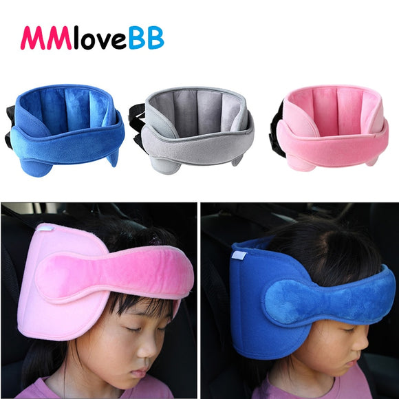 Kids Car Seat Neck Relief & Head Support Safety Stroller Sleeping Belt