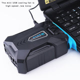 USB Vacuum Portable Notebook Laptop Cooler