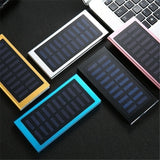 Slim Solar Powered Power Bank