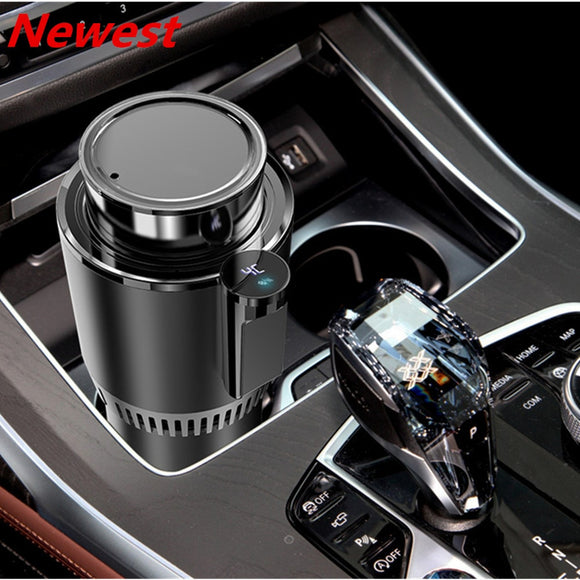 2 in 1 Smart Touch Screen Car Cup Warmer & Cooler