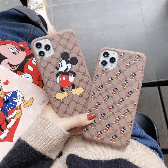 Cartoon Design Matte Cell Phone cases for iPhone