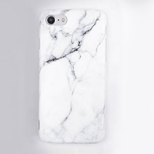 Marble Stone Gel Case for iPhones