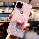 Glitter Cell Phone Case For iPhone