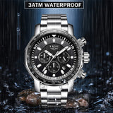 Luxury Mens Watches Full Steel Quartz