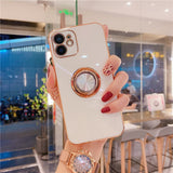 Luxury Ring Holder Case For iPhone 12 Pro Max