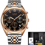Latest Watches Men Waterproof Chronograph Quartz