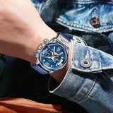 Latest Sports Watches for Mens Military Leather