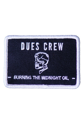 The Dues Crew Patch